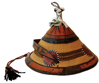 Chief's Hat from Burkina Faso