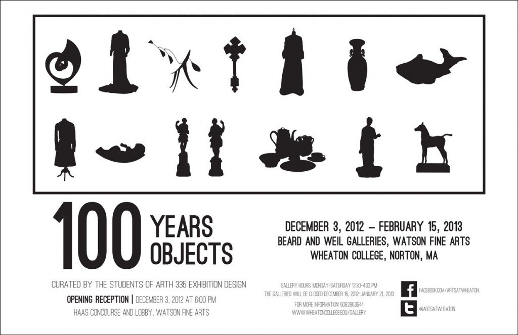 100 Years, 100 Objects (poster)